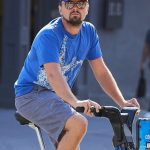 After Leonardo DiCaprio's Auburn hat got into a wreck in the Hamptons, it rode another Citibike around New York City