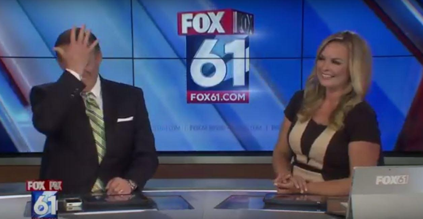 VIDEO: Connecticut news anchors indignant over Papa John's
