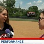 Here's a local D.C. news segment on Auburn Softball commit Emily 'Klutch' Klingaman