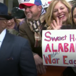 'War Eagle' sign on the 'TODAY' show's second Lauer-less morning