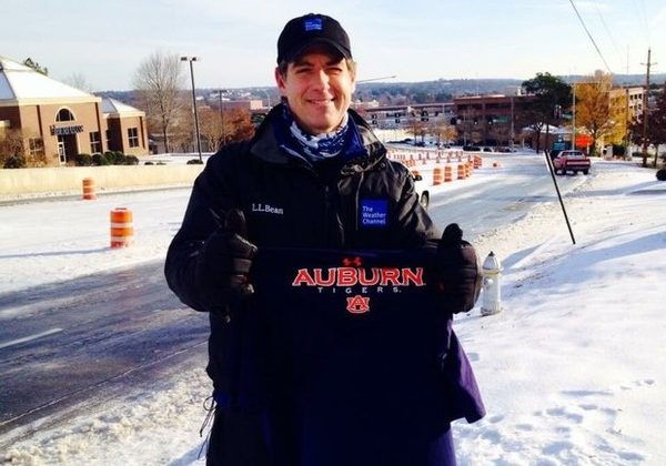 Auburn Basketball keeps getting praise from The Weather Channel