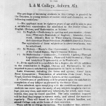 The 'Conditions of Admission' notice for the very first Auburn coeds