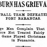 It's Pronounced Jordan: Auburn's forgotten 1900 game against Fort Barrancas