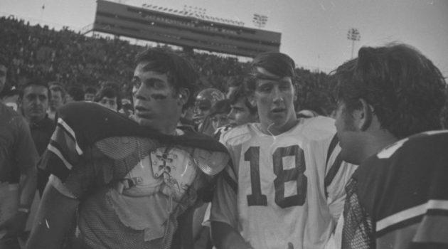 Pat Sullivan and Archie Manning, pen pals