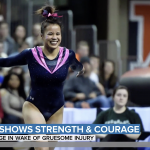 Auburn gymnast whose gruesome injury went viral still plans to walk down the aisle in two months