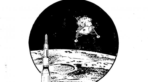 The Auburn men of the Apollo 11 press kit