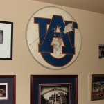 "Former Auburn Band member who created iconic ""AU"" logo talks tweaks, reminisces"