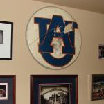 "Former Auburn Band member who created iconic ""AU"" logo talks tweaks, reminisces"