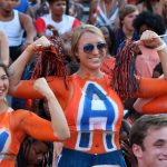 Chest-painting Auburn 'Superfans' talk ESPN faux pas