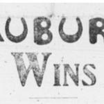 Auburn's first game vs. Samford resulted in the best football headline ever