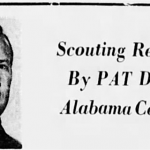 Pat Dye's first A-Day game… in 1967?