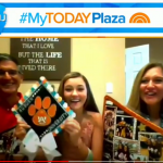 Childhood cancer survivor declares for Auburn on the 'TODAY' show
