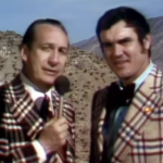 Listen to Lindsey Nelson and Tom Brookshier discuss the pronunciation of Shug Jordan's name during CBS' broadcast of the 1973 Sun Bowl