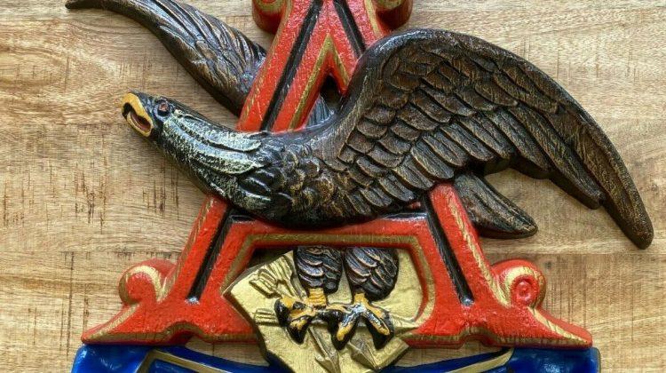 Pour Eagle! The history of Auburn's Eagle through the A logo